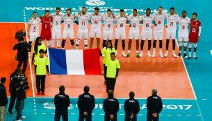 Franceteamduringtheanthem21 305x175 - فرانسه قهرمان لیگ جهانی شد/ نخستین مدال کانادا با شکست آمریکا