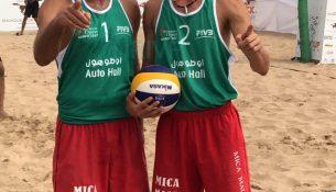 photo 2017 07 25 00 35 36 305x175 - تیم ملی والیبال ساحلی به نخستین مدال خود در تور جهانی دست یافت